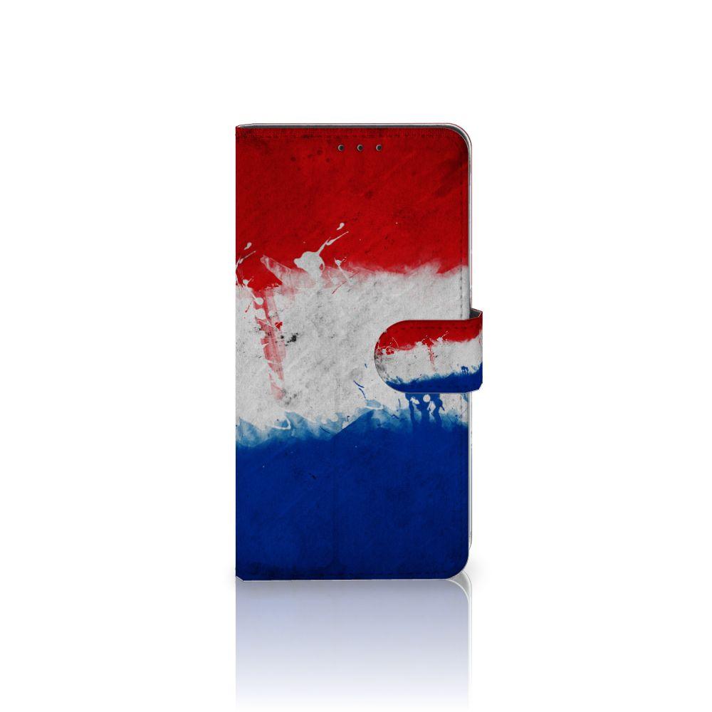 Samsung Galaxy A8 Plus (2018) Uniek Boekhoesje Nederlandse Vlag