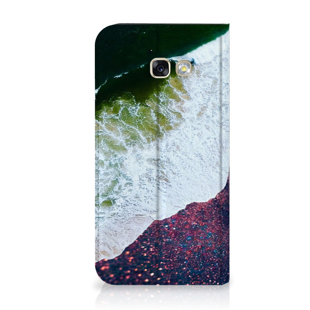 Samsung Galaxy A5 2017 Stand Case Sea in Space