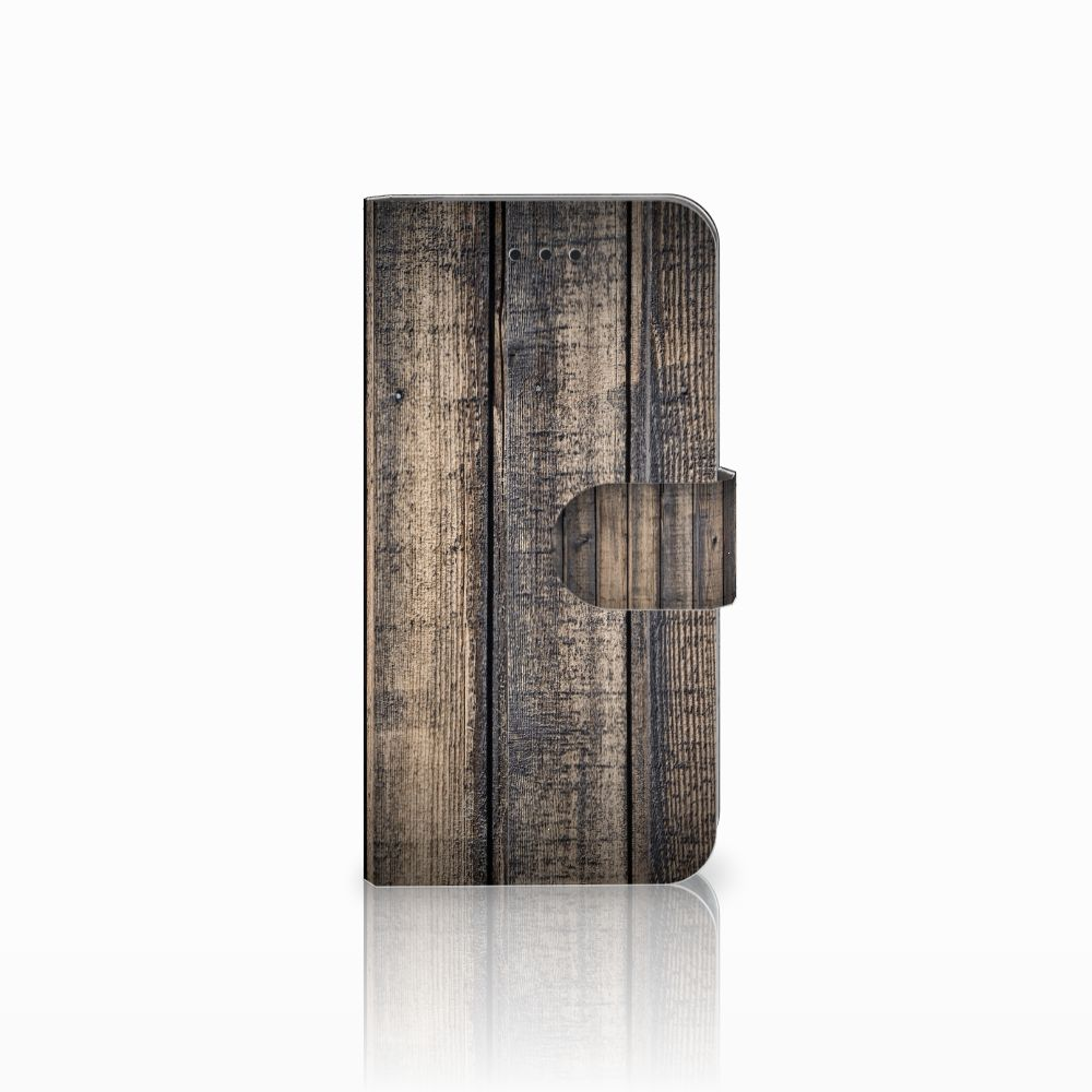 Apple iPhone X | Xs Boekhoesje Design Steigerhout