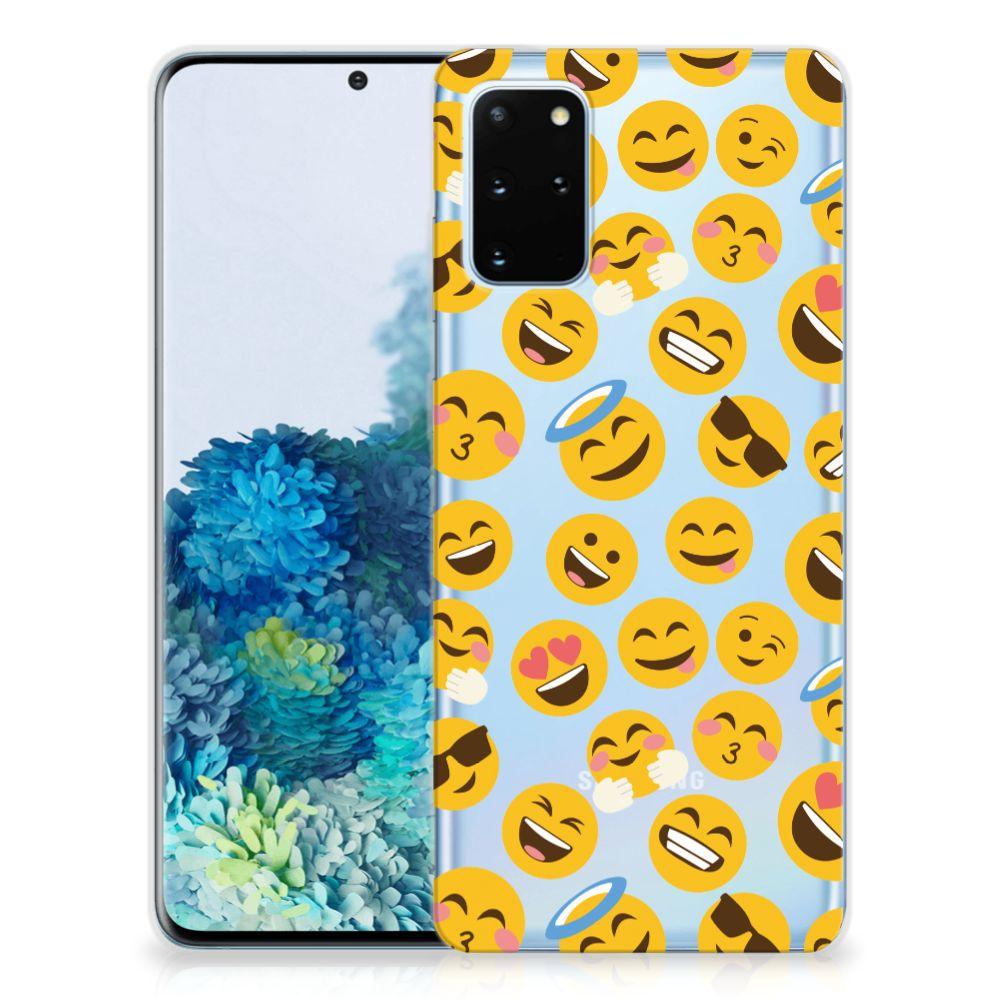 Samsung Galaxy S20 Plus TPU bumper Emoji