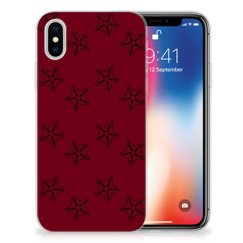 Apple iPhone X | Xs Uniek TPU Hoesje Sterren