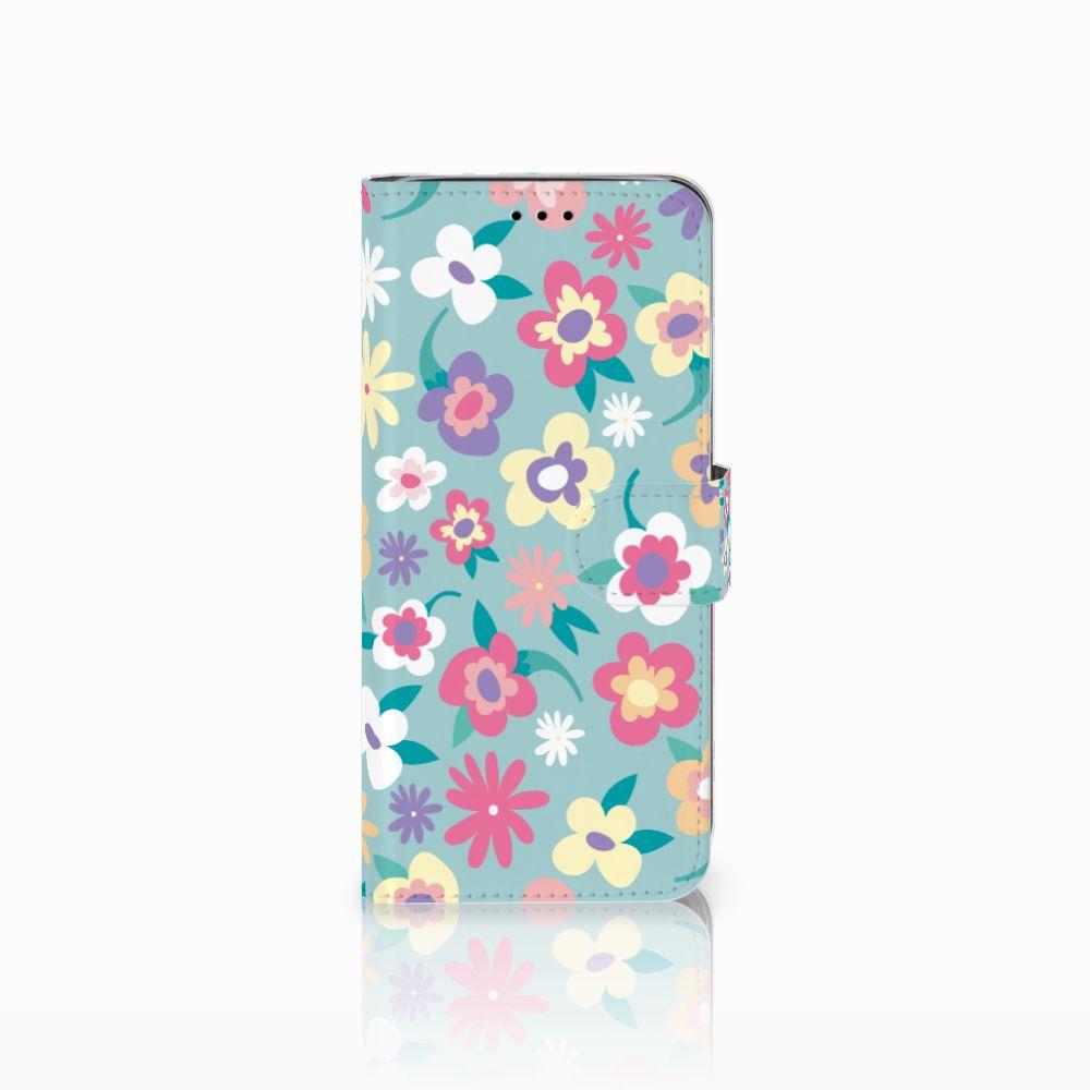 Samsung Galaxy A6 2018 Boekhoesje Design Flower Power
