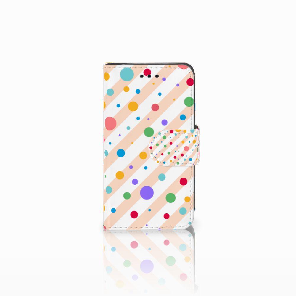 Samsung Galaxy Trend 2 Boekhoesje Design Dots