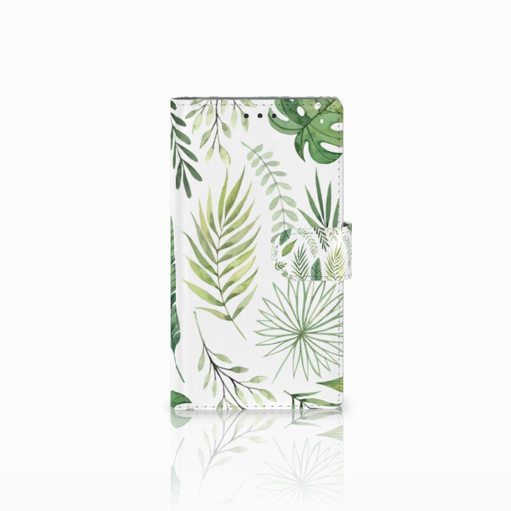 Samsung Galaxy Note 3 Uniek Boekhoesje Leaves