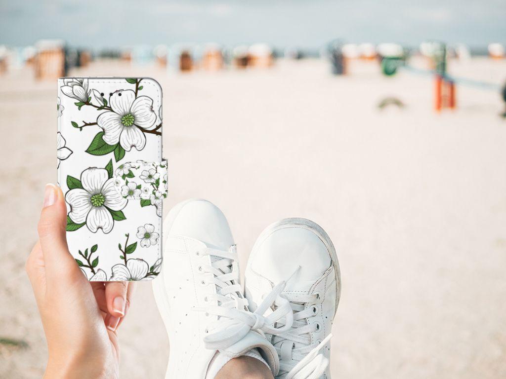 Apple iPhone X | Xs Boekhoesje Design Dogwood Flowers