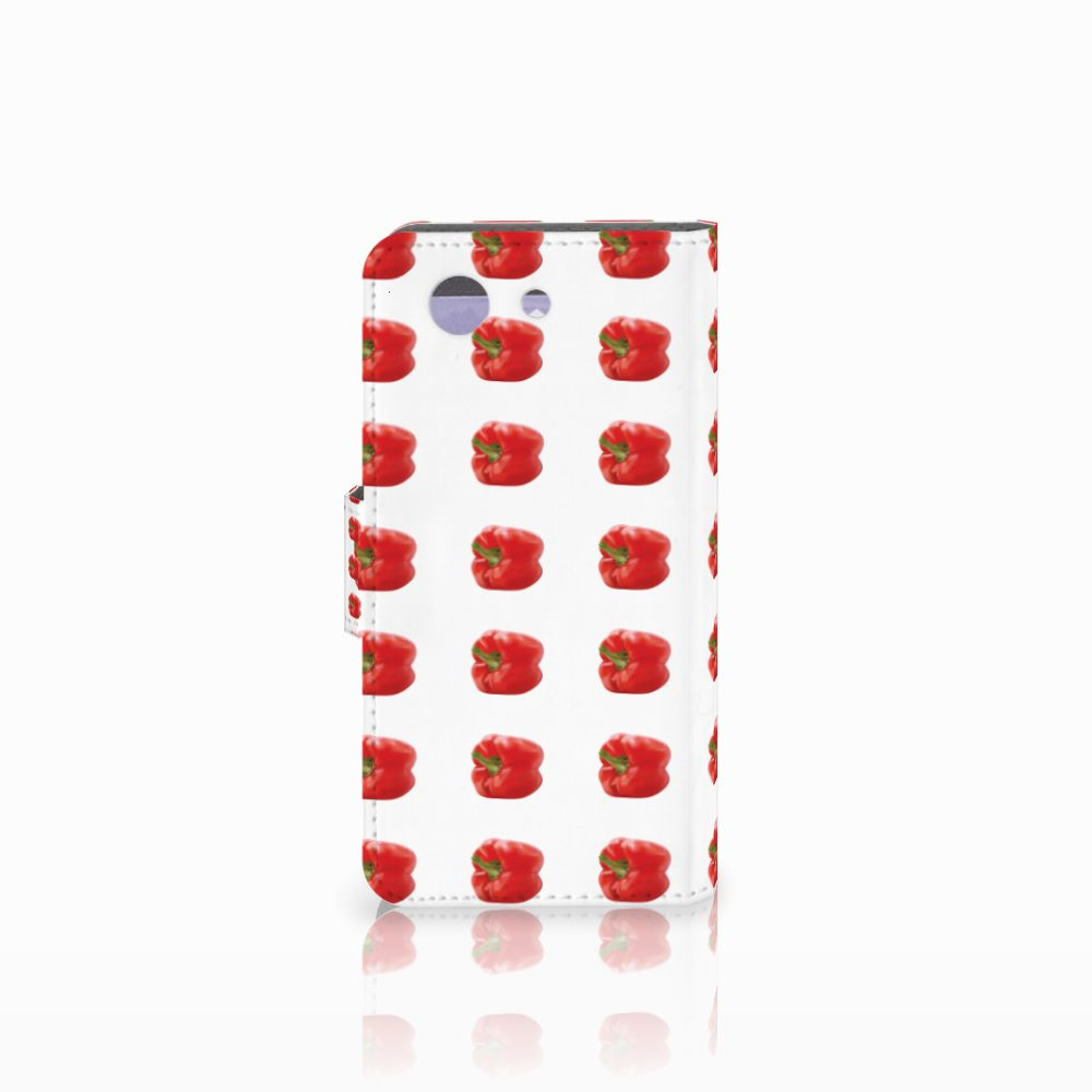 Sony Xperia Z3 Compact Book Cover Paprika Red