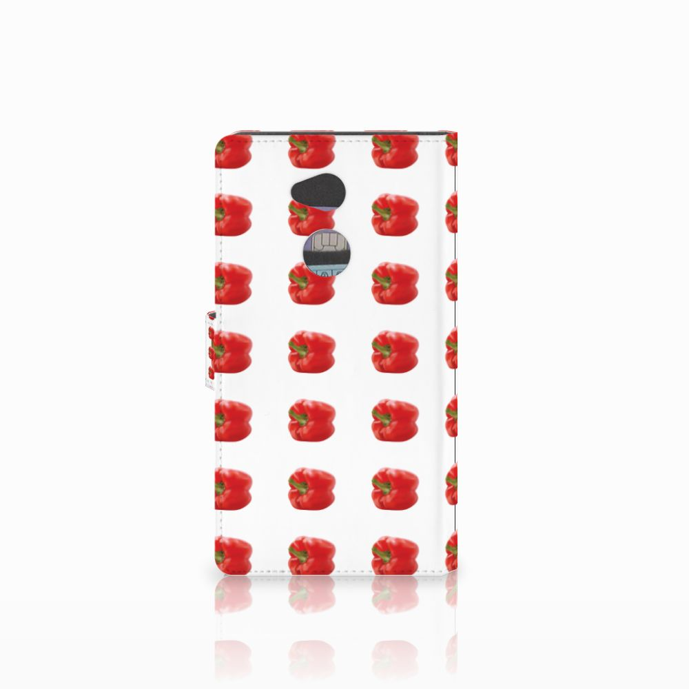 Sony Xperia XA2 Ultra Book Cover Paprika Red