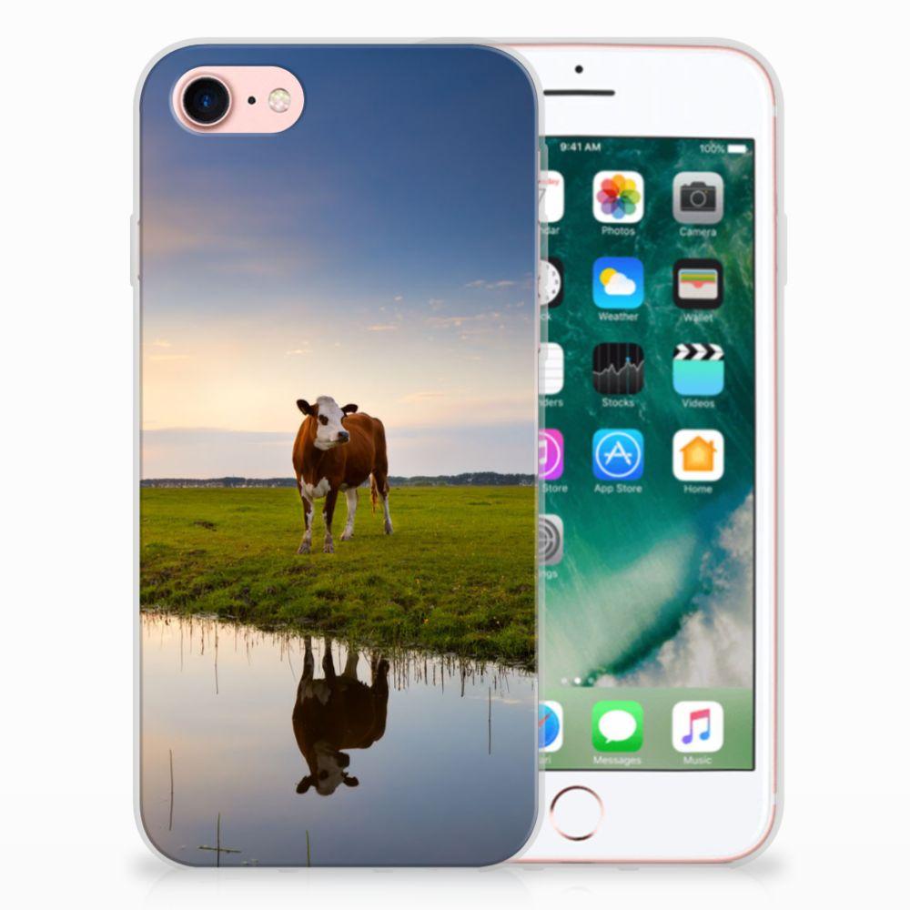 Apple iPhone 7 | 8 TPU Hoesje Design Koe
