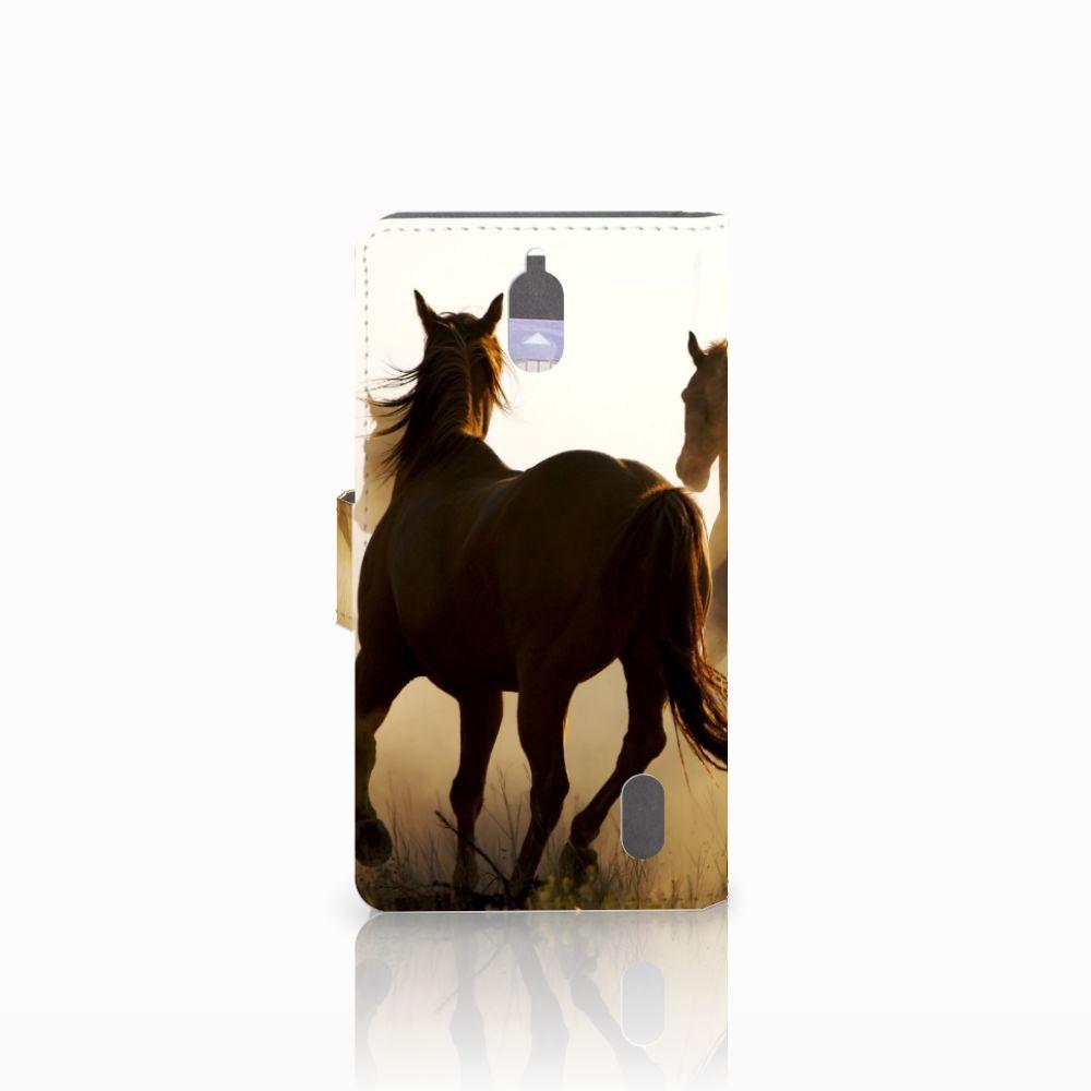 Huawei Y625 Telefoonhoesje met Pasjes Design Cowboy