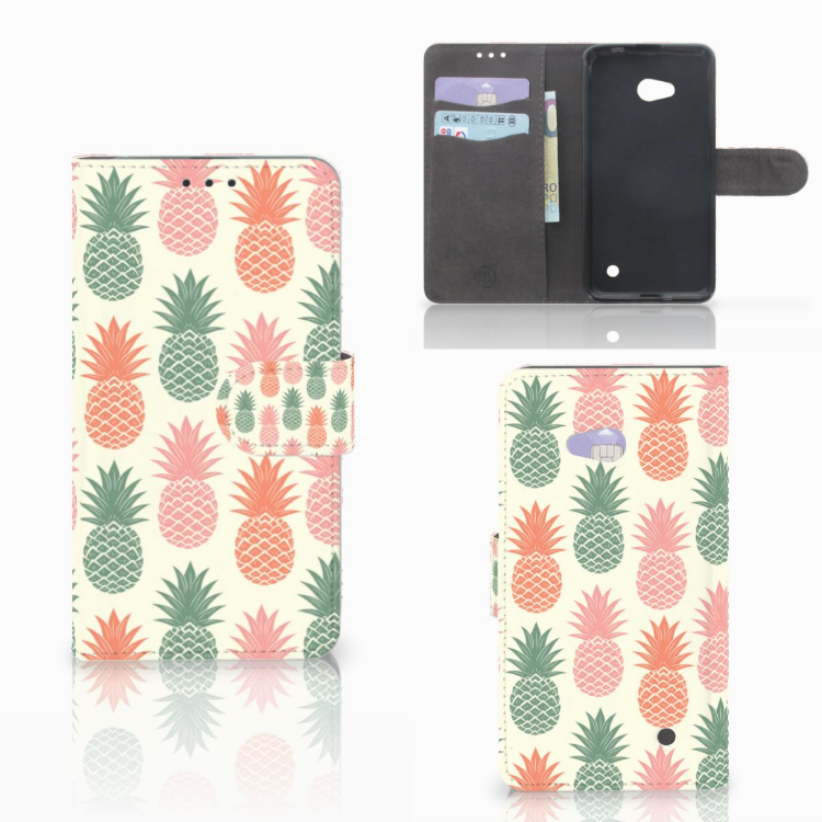 Microsoft Lumia 640 Book Cover Ananas