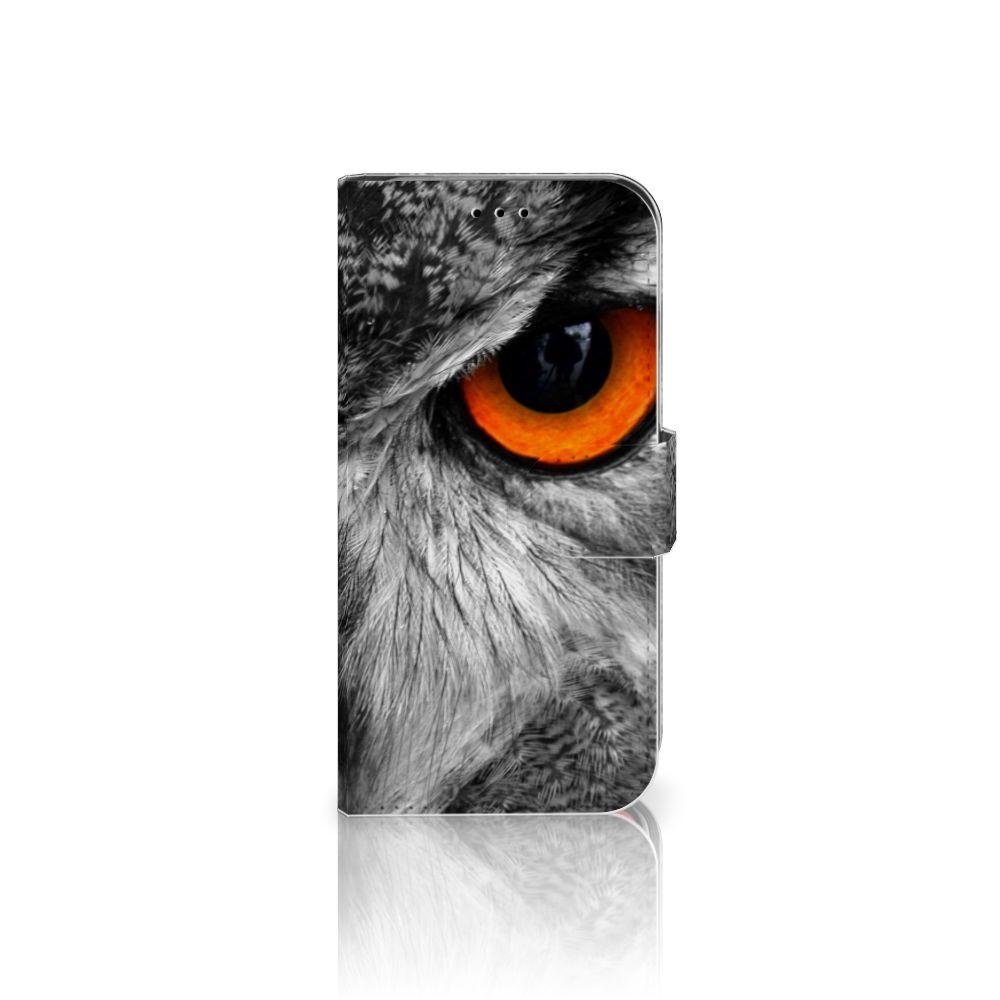 Apple iPhone X | Xs Telefoonhoesje met Pasjes Uil
