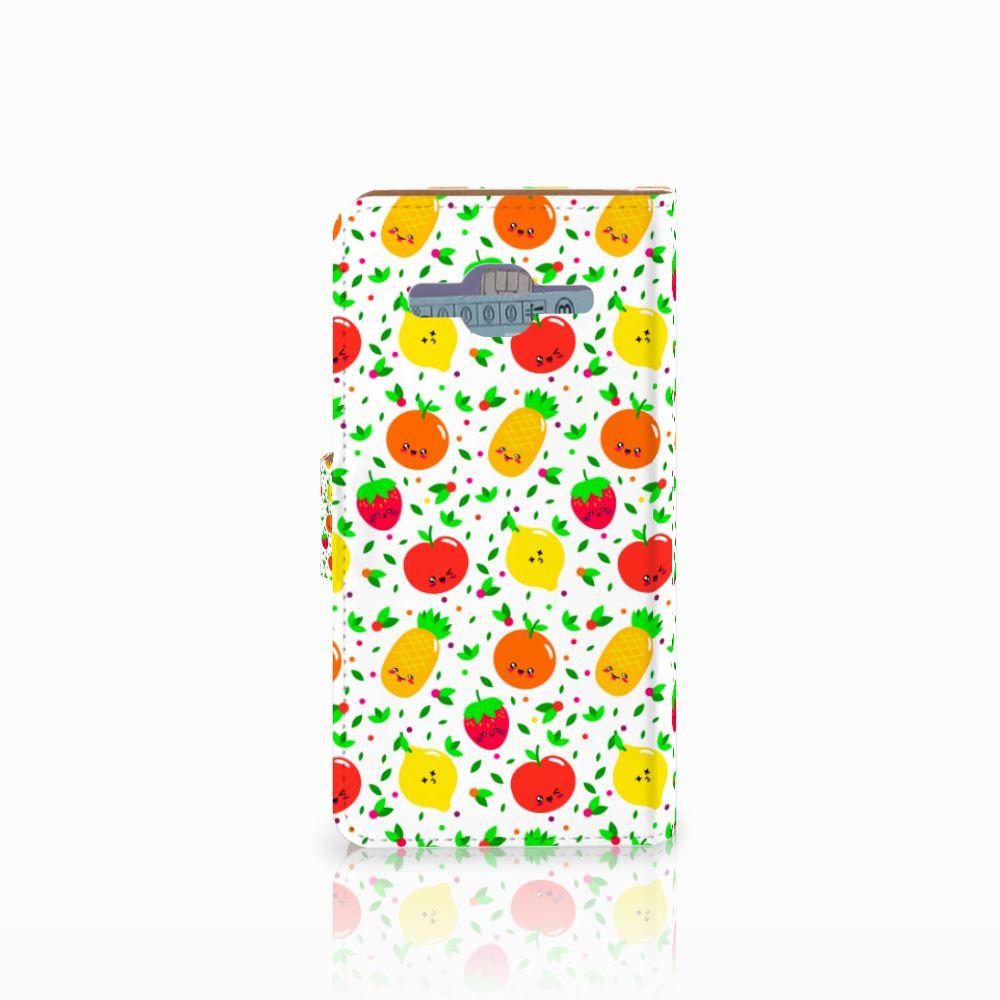 Samsung Galaxy J2 2016 Book Cover Fruits