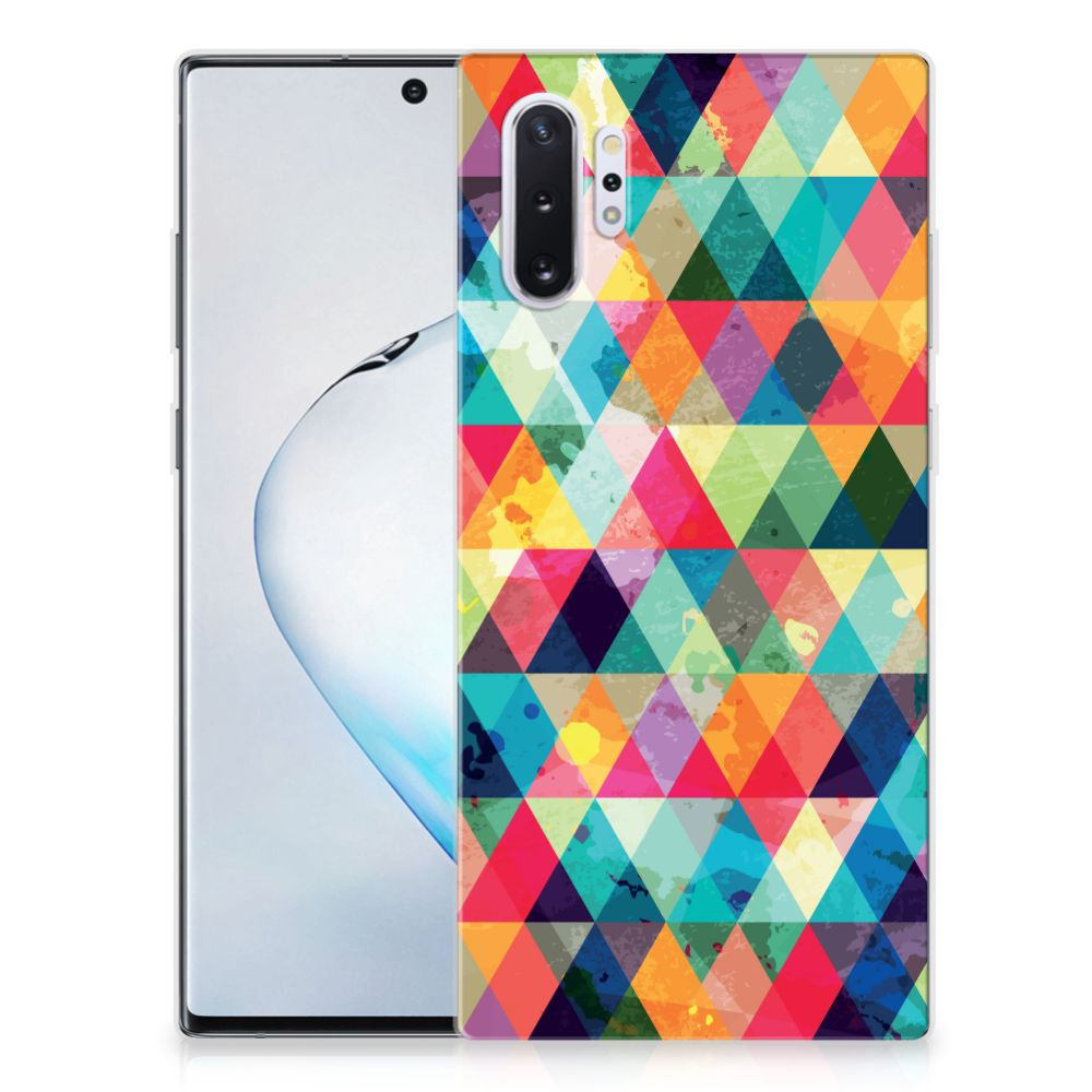 Samsung Galaxy Note 10 Plus TPU bumper Geruit