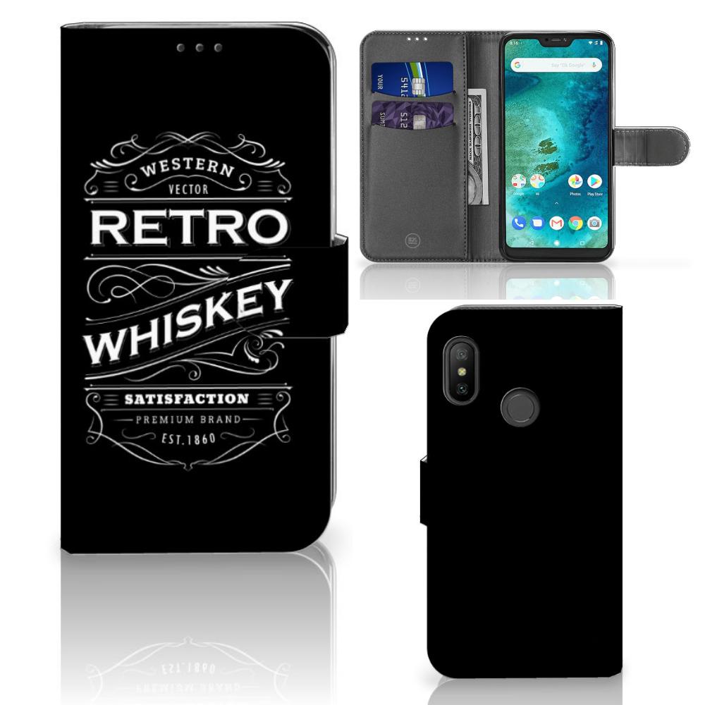 Xiaomi Mi A2 Lite Book Cover Whiskey