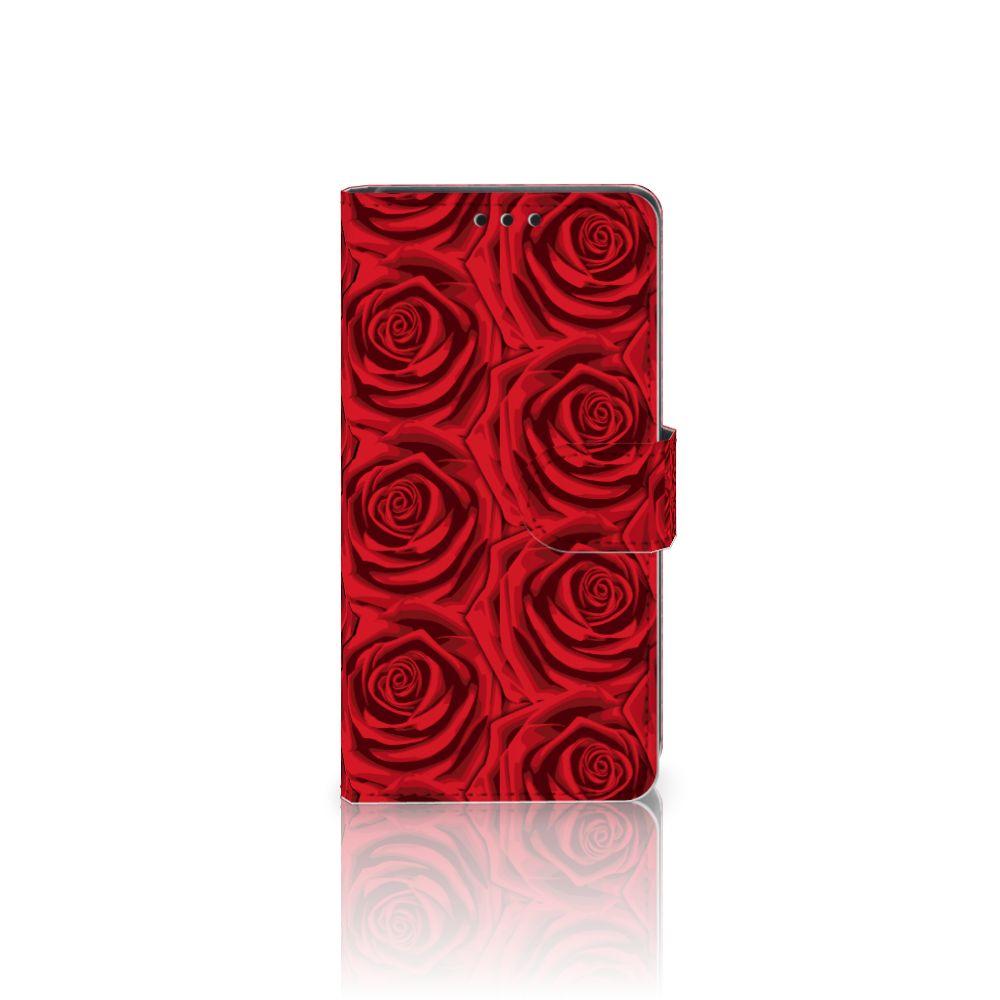 Sony Xperia Z5 | Z5 Dual Uniek Boekhoesje Red Roses