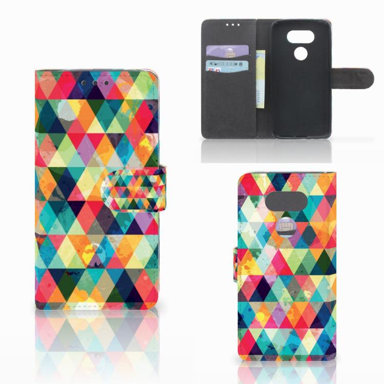 LG G5 Telefoon Hoesje Geruit