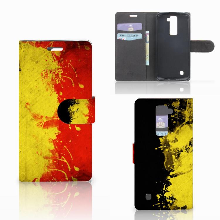 LG K10 2015 Bookstyle Case België