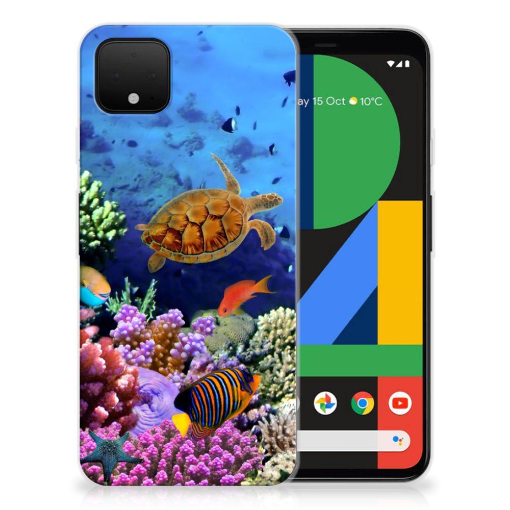 Google Pixel 4 XL TPU Hoesje Vissen