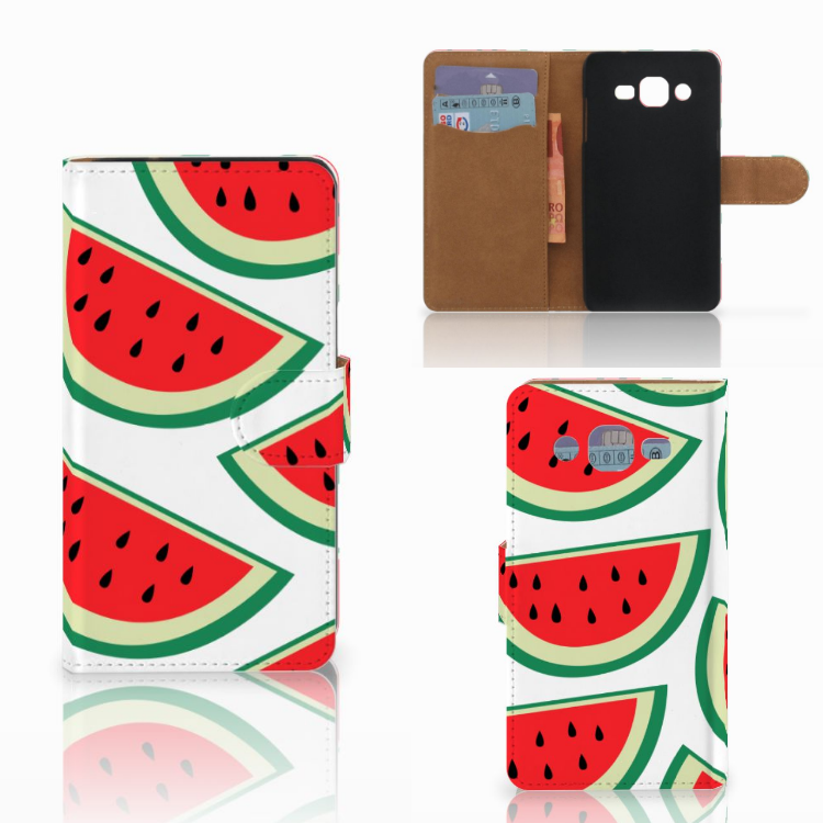 Samsung Galaxy J2 (2015) Book Cover Watermelons