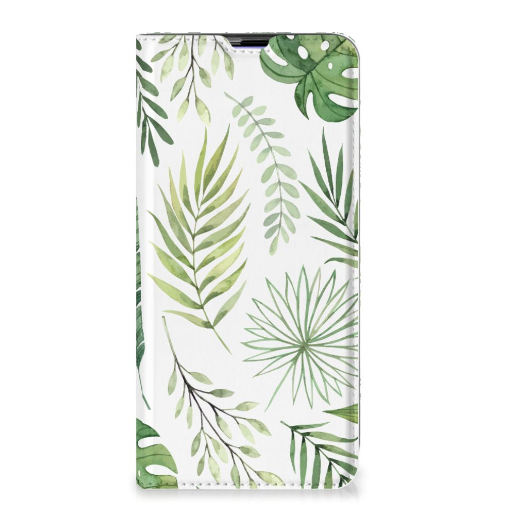 Samsung Galaxy A51 Smart Cover Leaves