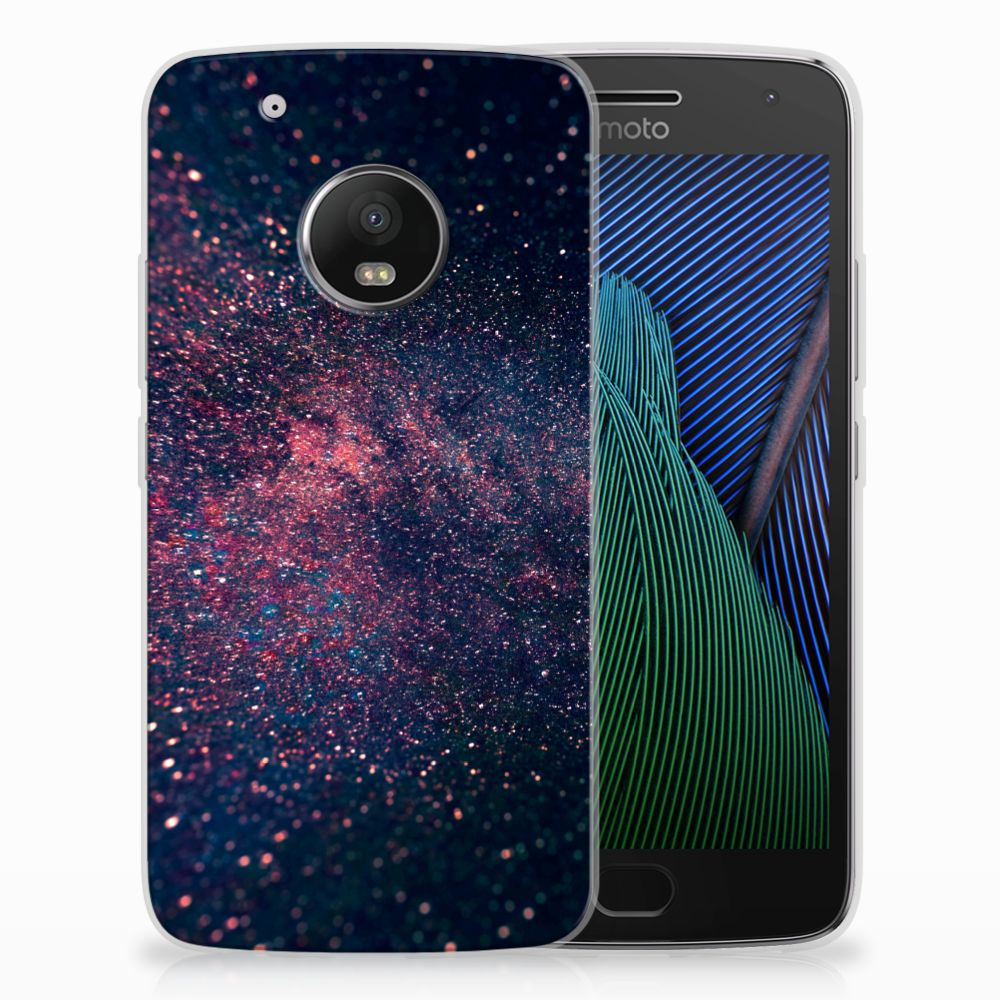 Motorola Moto G5 Plus TPU Hoesje Stars