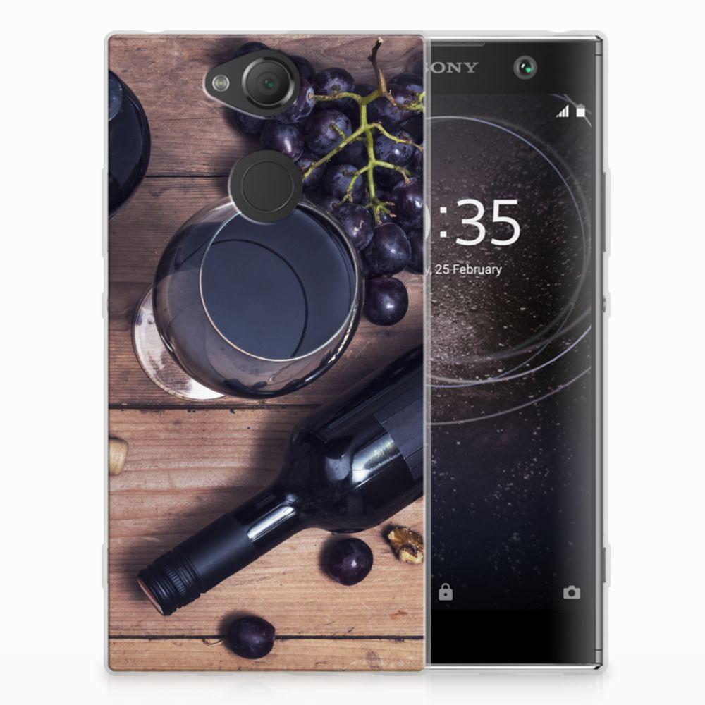 Sony Xperia XA2 Uniek TPU Hoesje Wijn