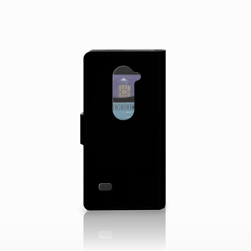LG Leon 4G Book Cover Whiskey
