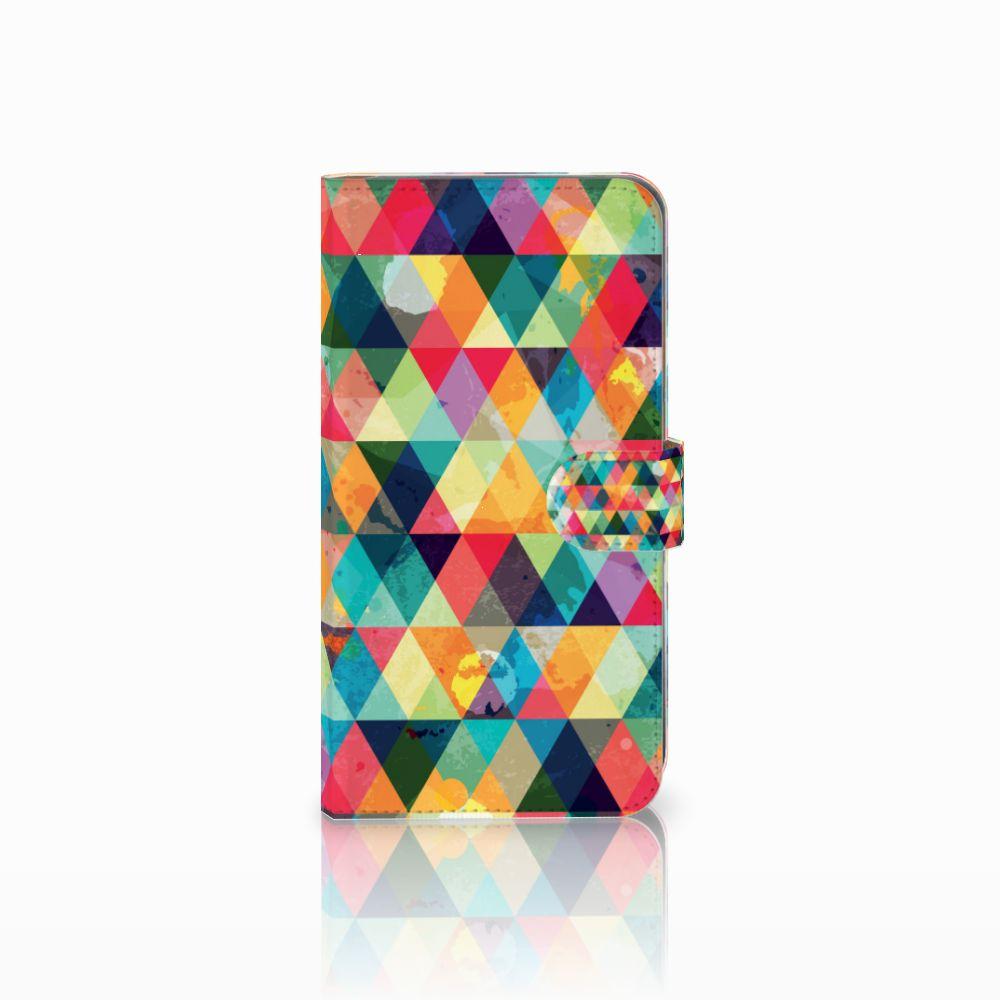 Huawei Mate 9 Uniek Boekhoesje Geruit