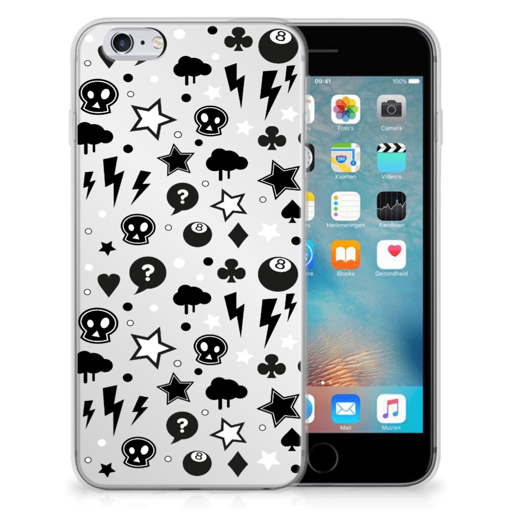 Silicone Back Case Apple iPhone 6 | 6s Silver Punk