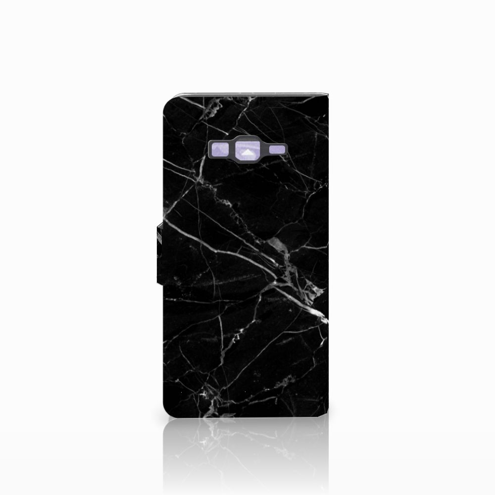 Samsung Galaxy Grand Prime   Grand Prime VE G531F Bookcase Marmer Zwart