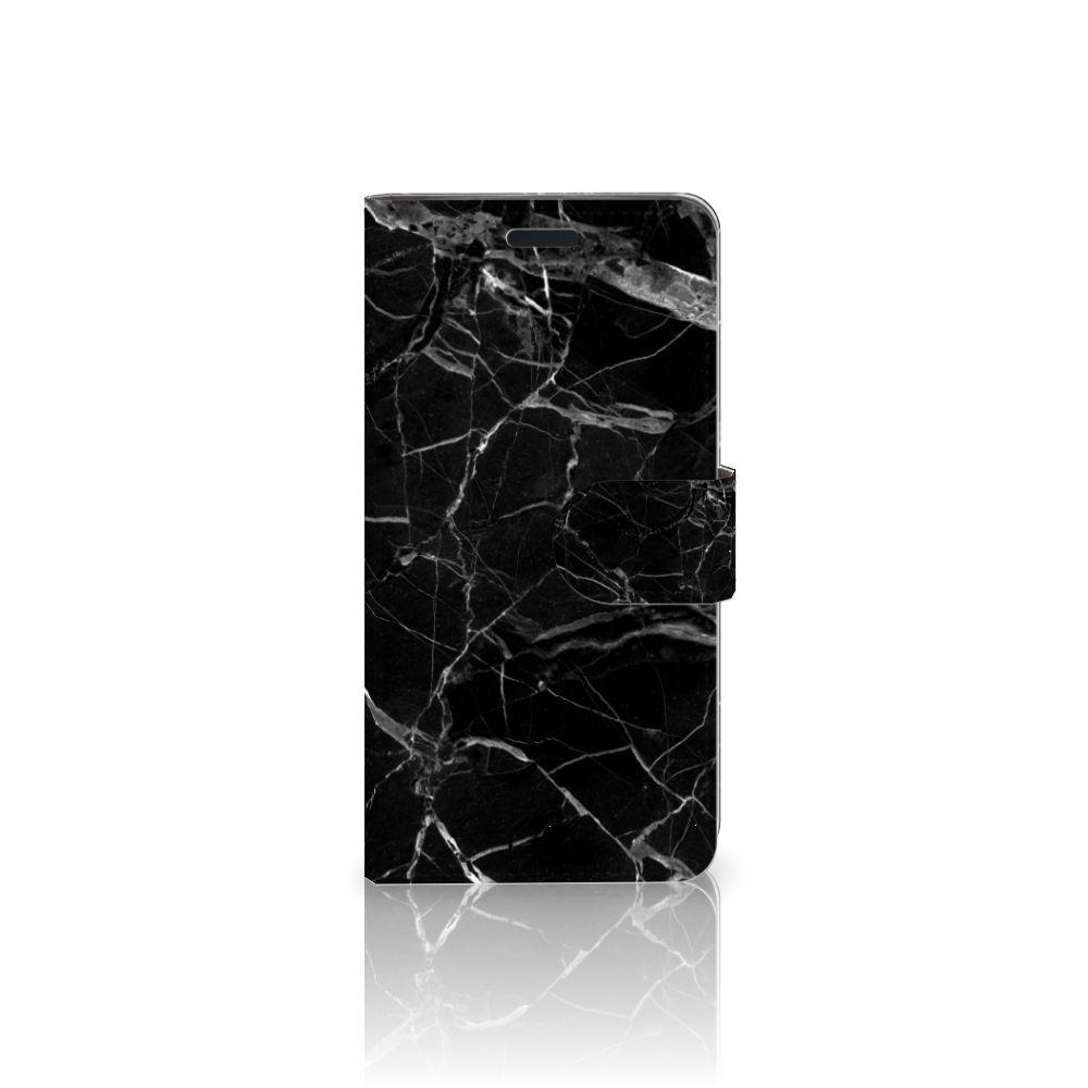 HTC 10 Boekhoesje Marmer Zwart