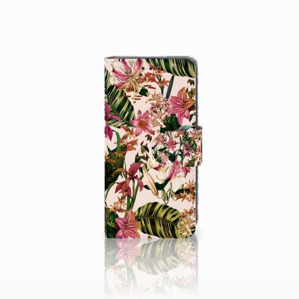 Nokia Lumia 630 Uniek Boekhoesje Flowers