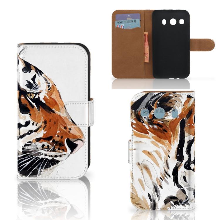 Hoesje Samsung Galaxy Ace 4 4G (G357-FZ) Watercolor Tiger