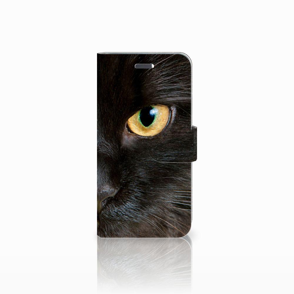 Lenovo Vibe K5 Uniek Boekhoesje Zwarte Kat