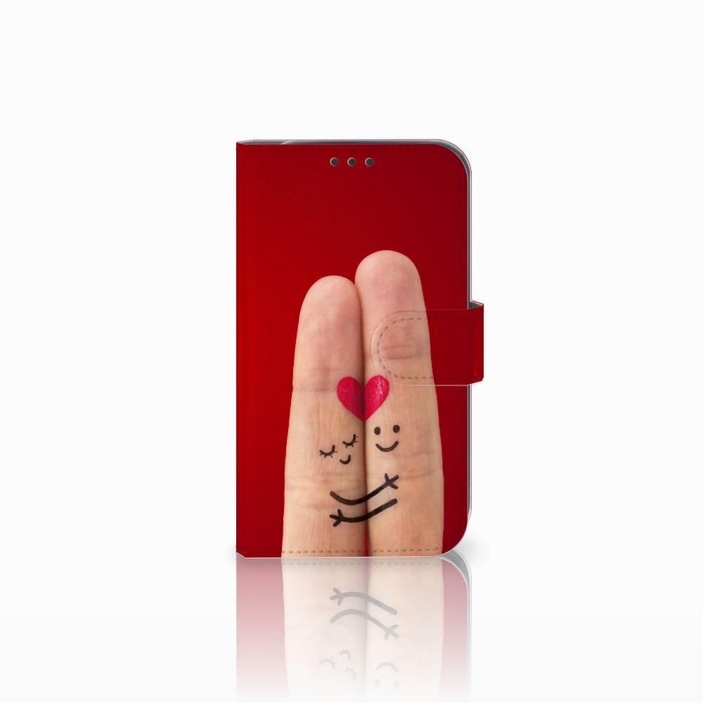 Samsung Galaxy Xcover 4 Uniek Boekhoesje Liefde