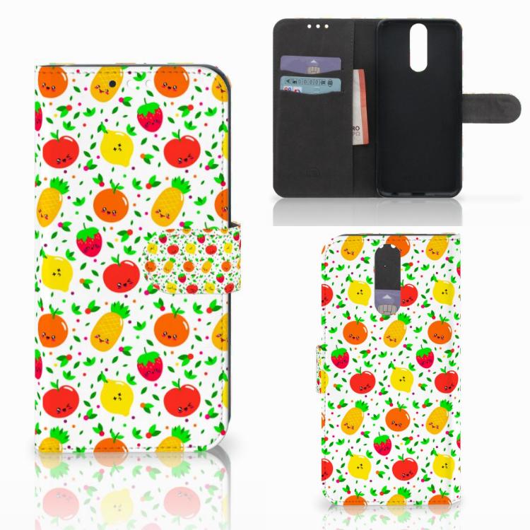 Huawei Mate 10 Lite Book Cover Fruits