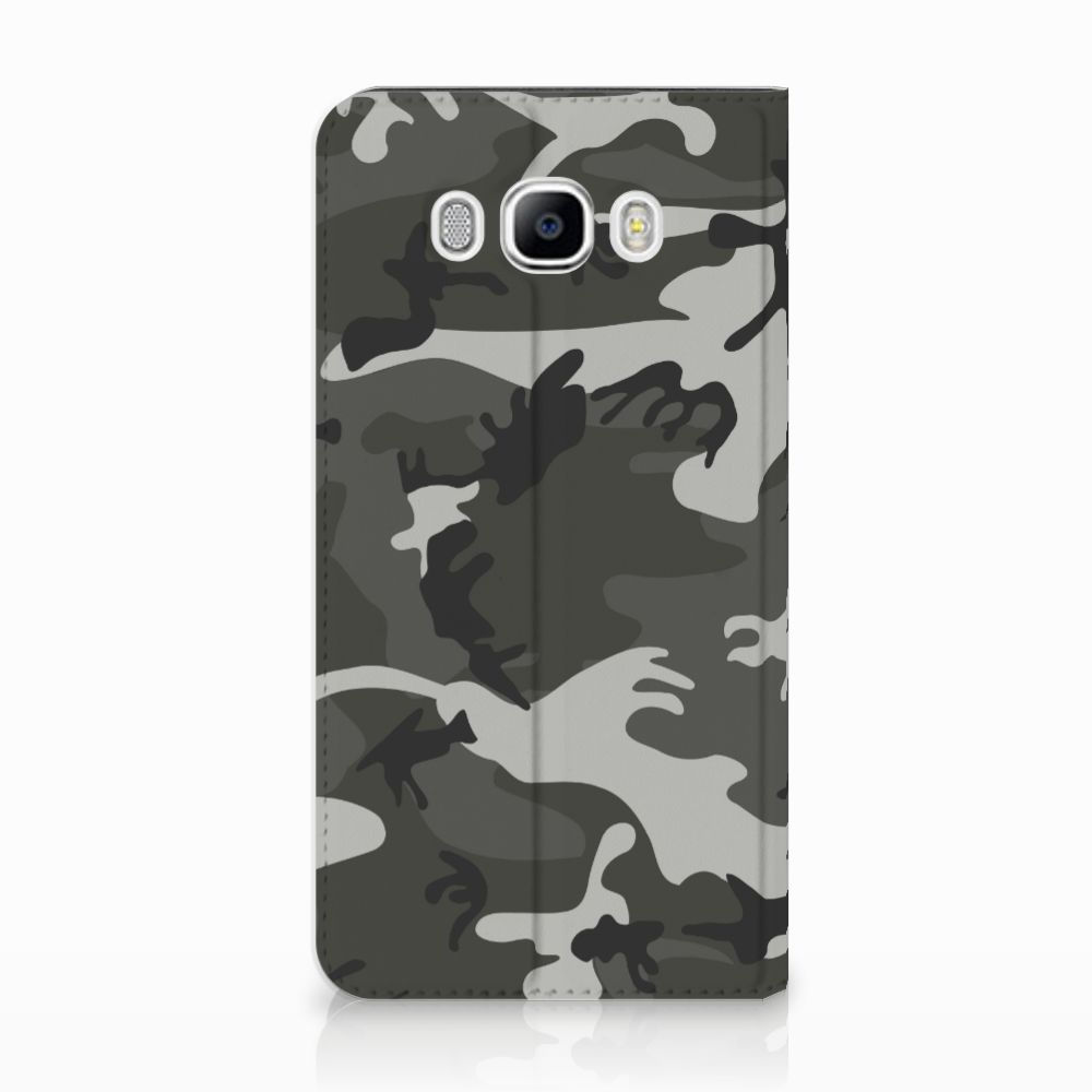 Samsung Galaxy J7 2016 Uniek Standcase Hoesje Army Light