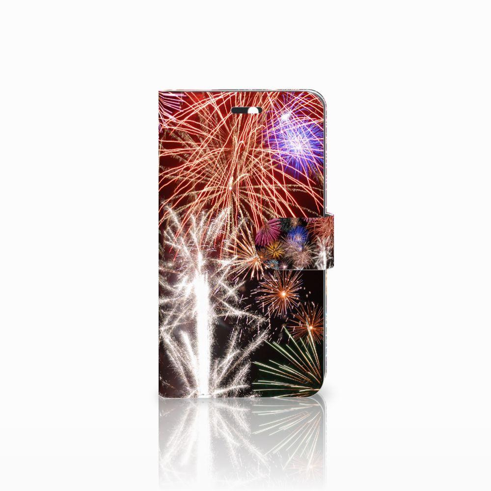 Huawei Y6 II | Honor 5A Boekhoesje Design Vuurwerk