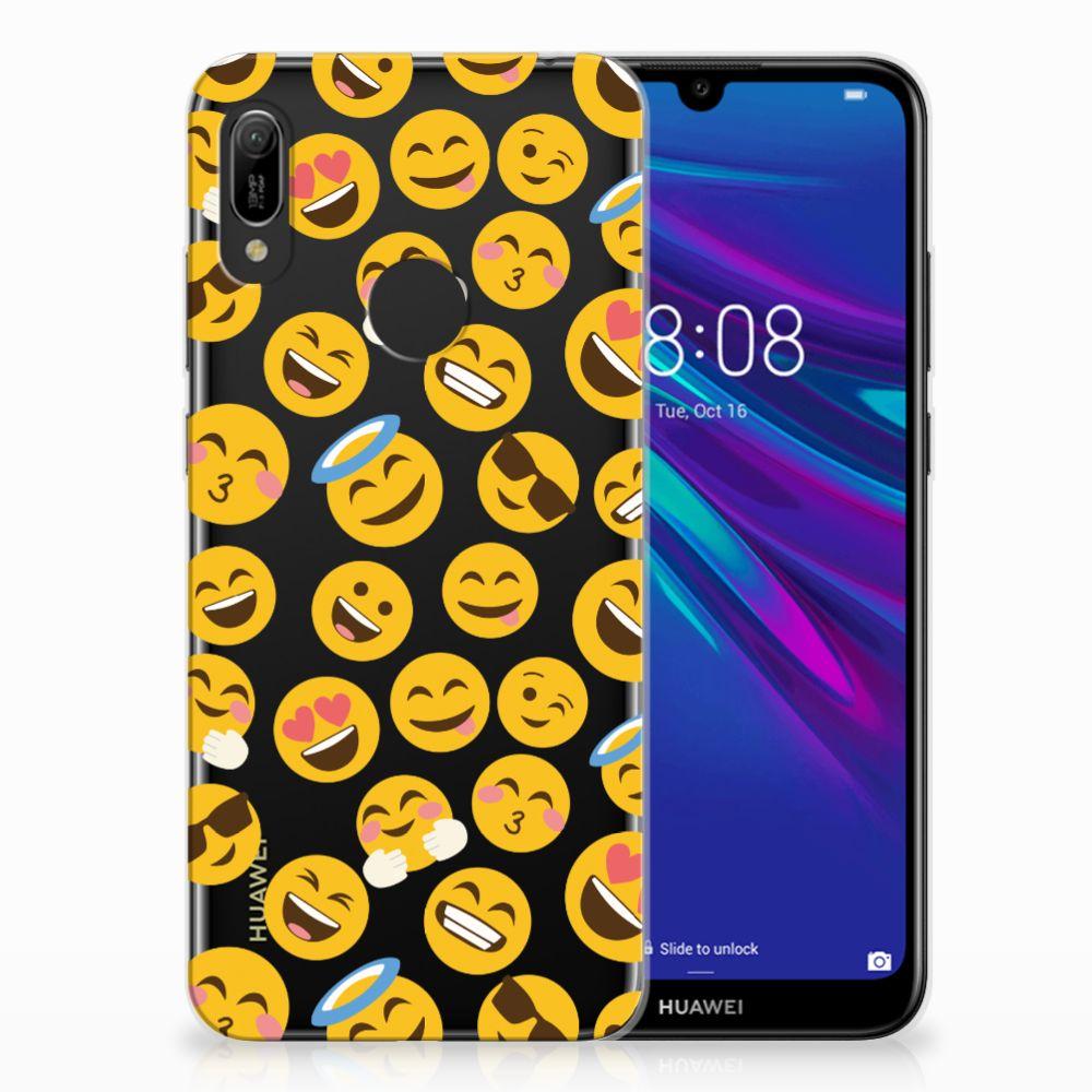 Huawei Y6 2019 | Y6 Pro 2019 TPU Hoesje Design Emoji