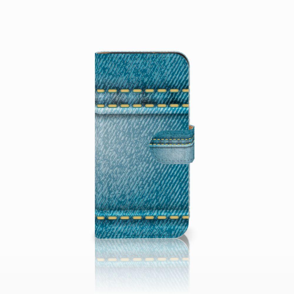 HTC One Mini 2 Boekhoesje Design Jeans