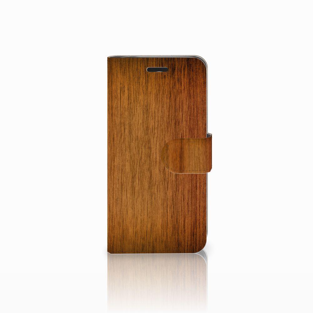 Acer Liquid Z530 | Z530s Uniek Boekhoesje Donker Hout