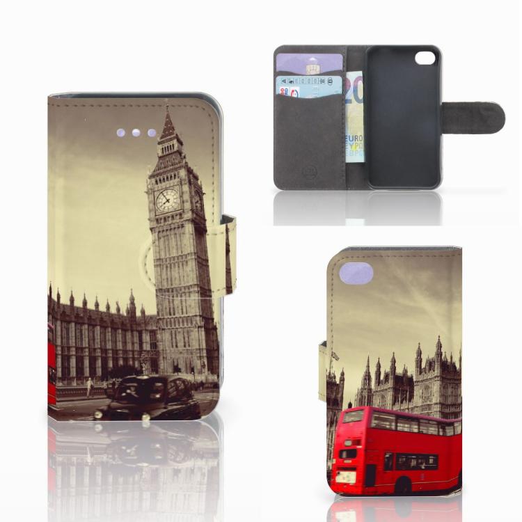 Apple iPhone 4   4S Flip Cover Londen