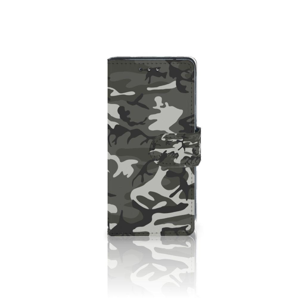 Sony Xperia XZ1 Compact Uniek Boekhoesje Army Light