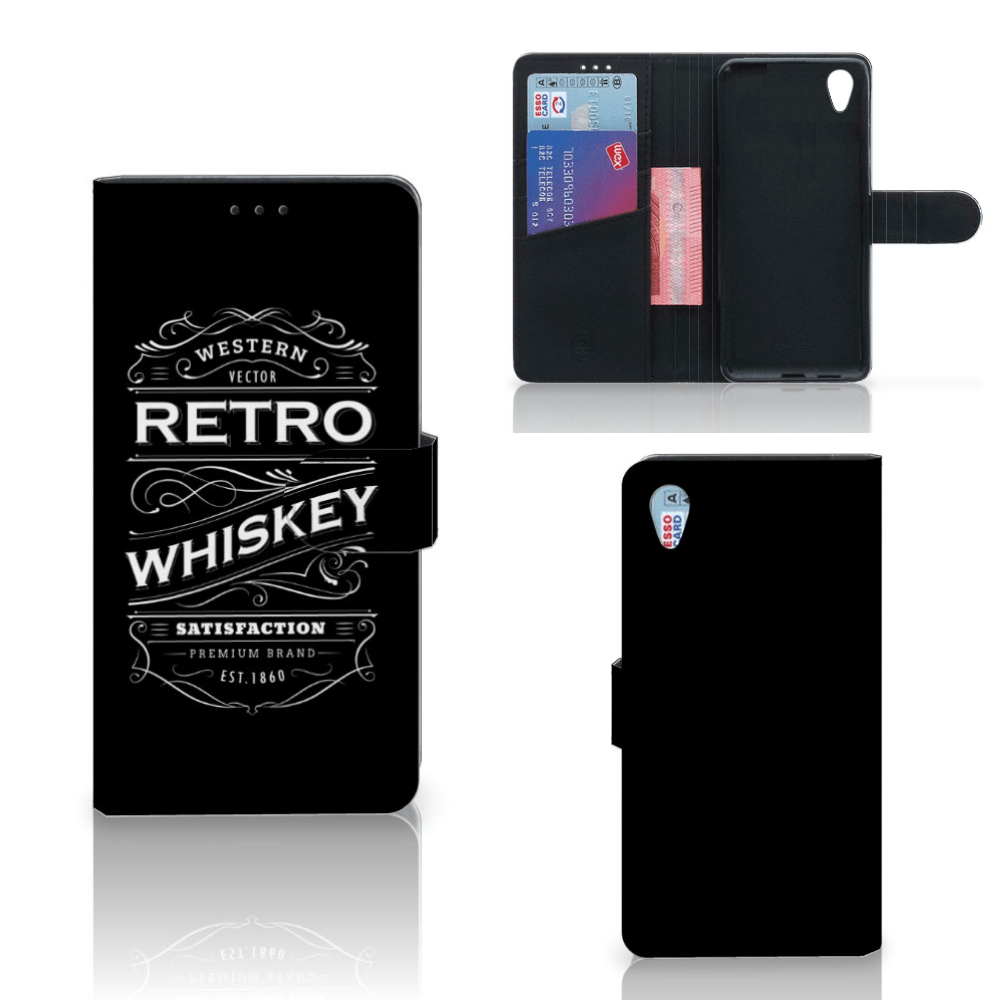 Sony Xperia XA1 Plus Book Cover Whiskey