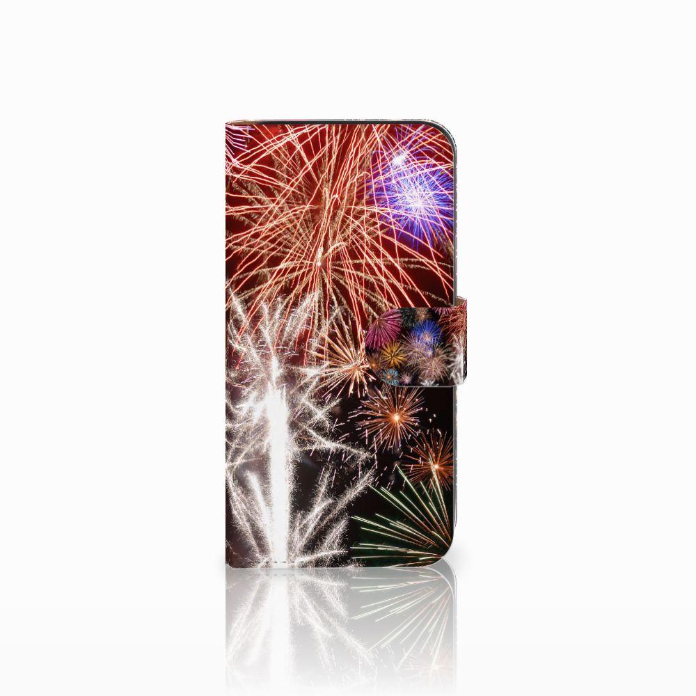 Samsung Galaxy E5 Boekhoesje Design Vuurwerk
