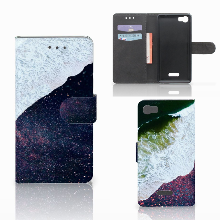 Wiko Fever (4G) Bookcase Sea in Space