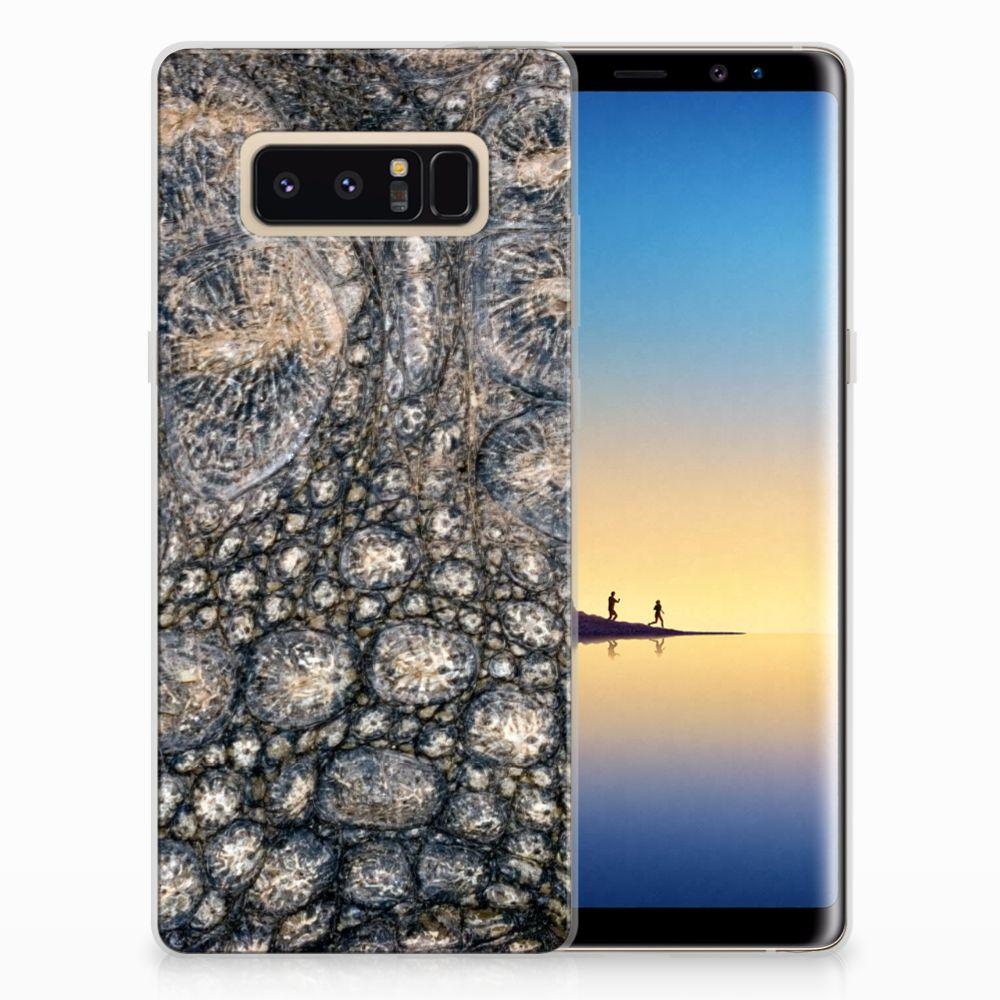 Samsung Galaxy Note 8 TPU Hoesje Krokodillenprint