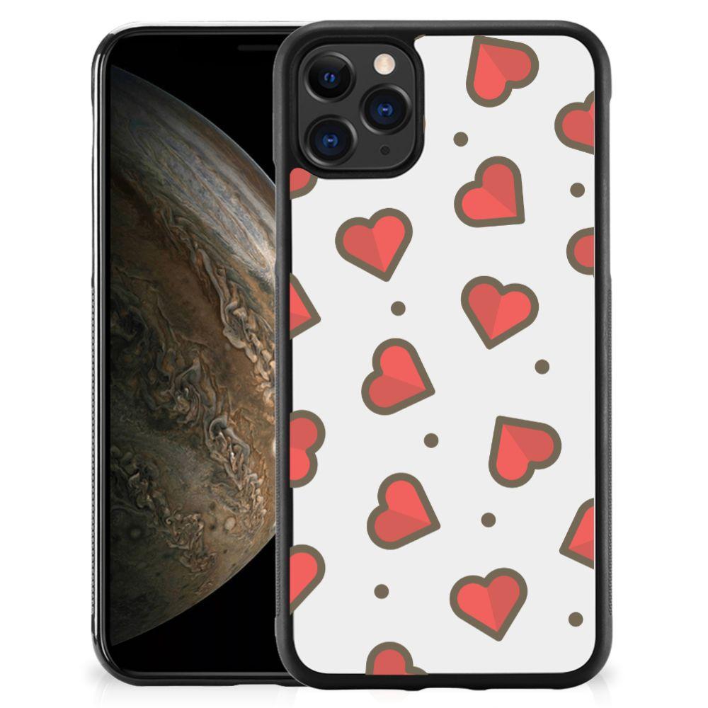 Apple iPhone 11 Pro Bumper Case Hearts