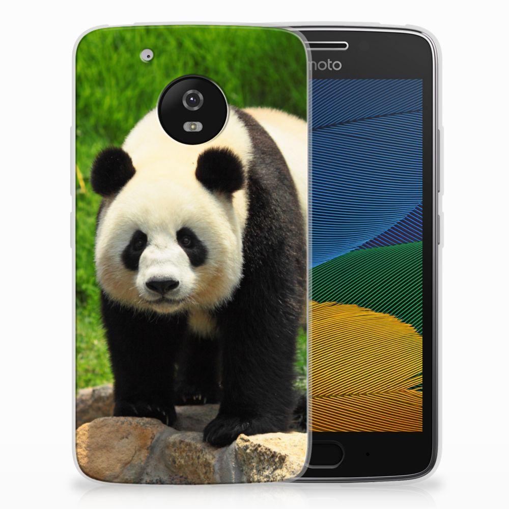 Motorola Moto G5 TPU Hoesje Design Panda