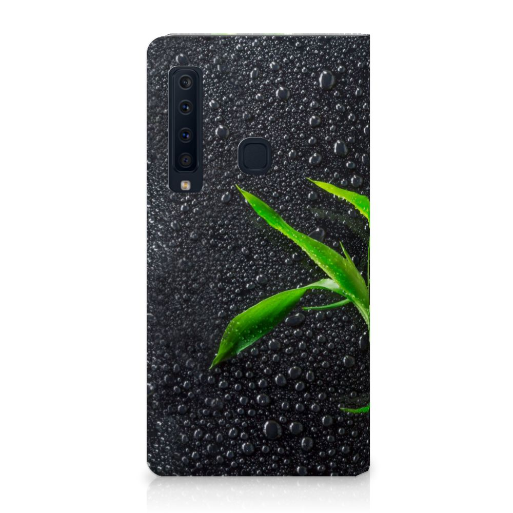 Samsung Galaxy A9 (2018) Standcase Hoesje Design Orchidee